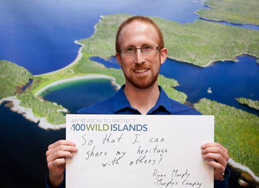 My Reason To Protect 100 Wild Islands Ryan Murphy