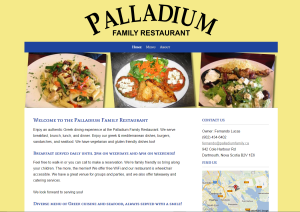 Palladium Website Example