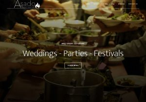 Asado Catering Website Design