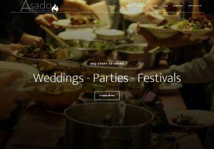 Asado Catering Website Design